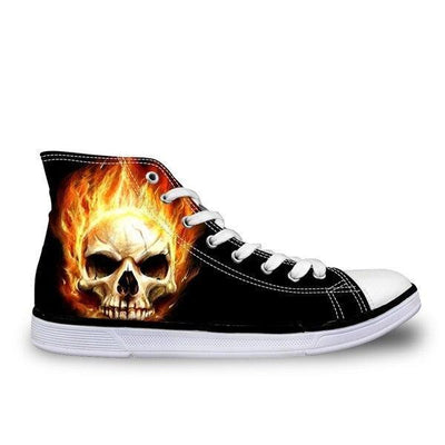 Fire Skull Shoes