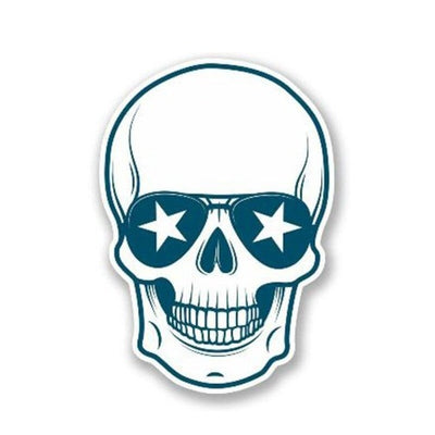 Florida Skull Sticker
