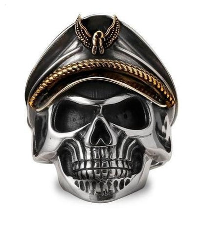 German Skull Ring