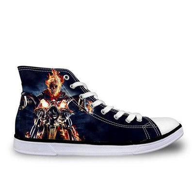Ghost Rider Skull Shoes