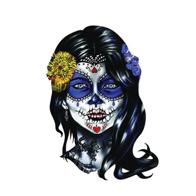 Girl Skull Sticker