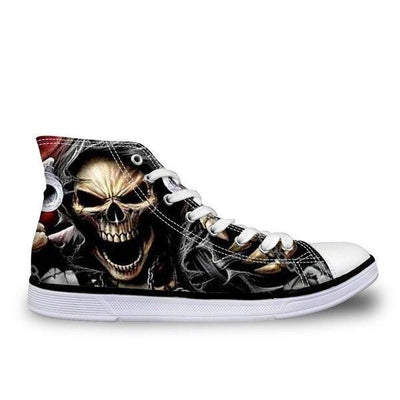 Grim Reaper Skull Shoes
