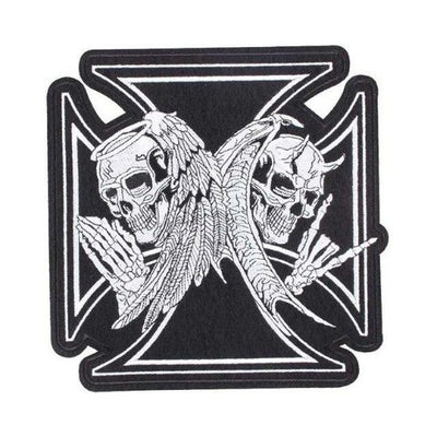 Heaven or Hell Skull Patch