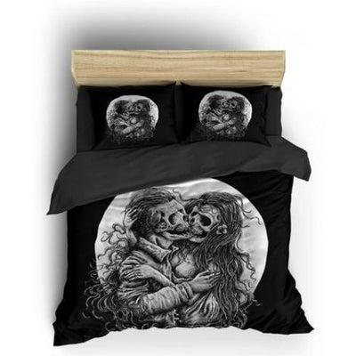 His and Her Skull Bedding