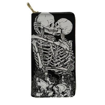 His and Her Skull Wallet