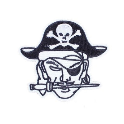 Jolly Rodger Skull Patch