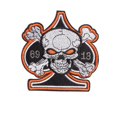 Lucky 13 Skull Patch