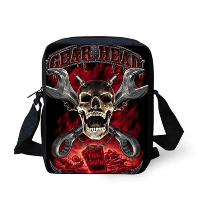 Mechanic Skull Bag