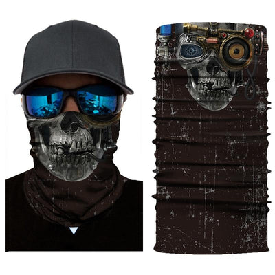 Mechanic Skull Bandana