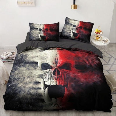 Melting Skull Bedding