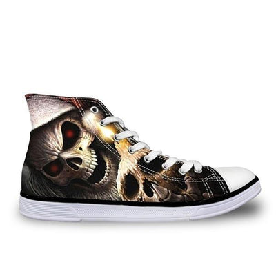 Melting Skull Shoes