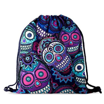 Mexican Skull Backpack