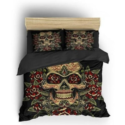 Mexican Skull Bedding