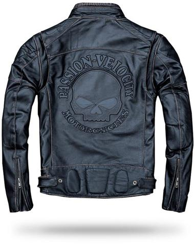 Motorcycle Skull Leather Jackets