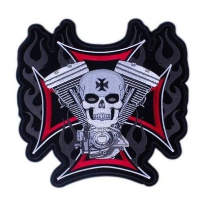 Panhead Skull Patch