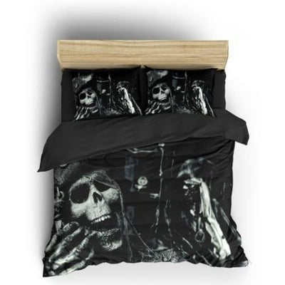 Pirate Skull Bedding