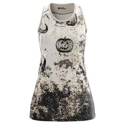 Pumpkin Skull Dress