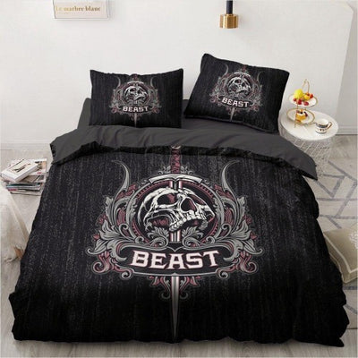 Punisher Skull Bedding