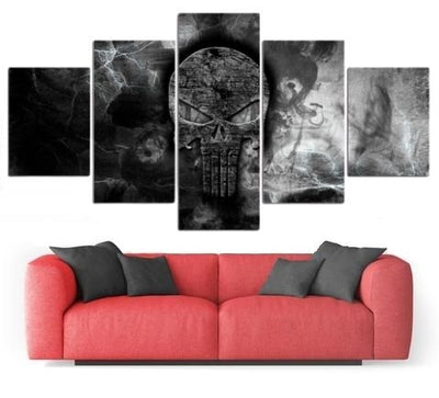 Punisher Skull Wall Art