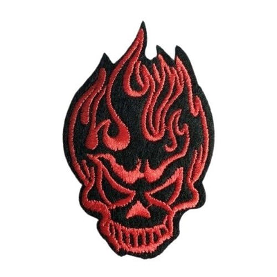 Red Skull Patch