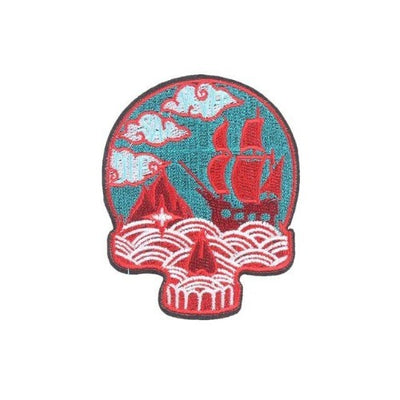 Ship Skull Patch