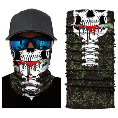 Skeleton Mouth Bandana
