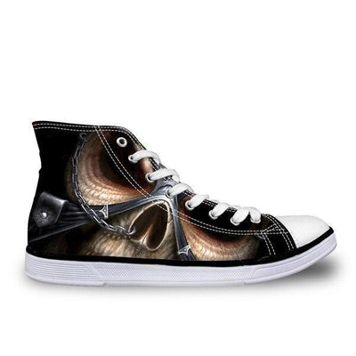 Skull Converse Shoes