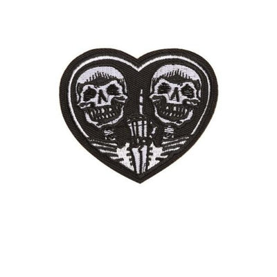Skull Heart Patch