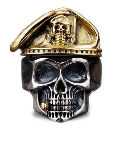 Special Forces Skull Ring