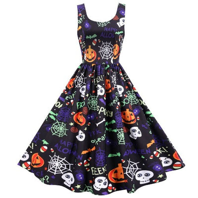 Spooky Skull Dress