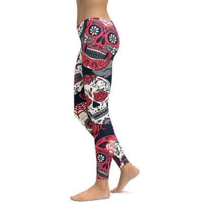 Sugar Skull Legging