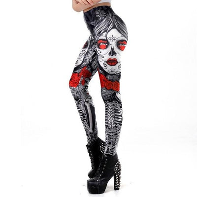 Superb Skull Legging