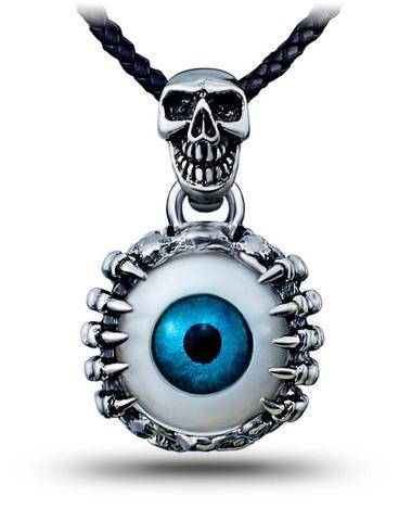 Third Eye Skull Necklace