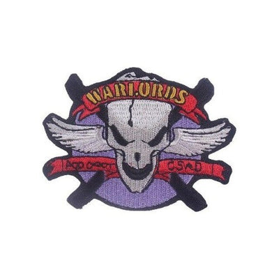 Warrior Skull Patch