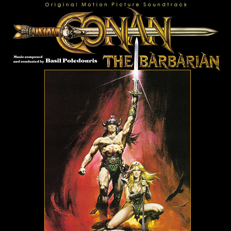 Soundtrack - Basil Poledouris: Conan The Barbarian (Vinyle Neuf)