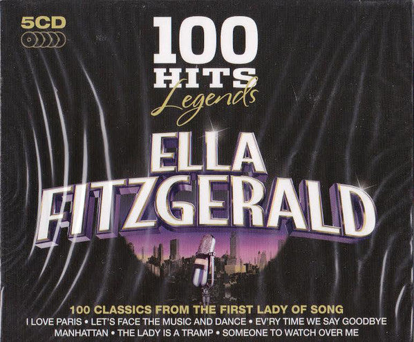Ella Fitzgerald - 100 Hits Legends (CD Usagé)