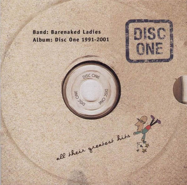 Barenaked Ladies - Disc One: All Their Greatest Hits (1991-2001) (CD Usagé)