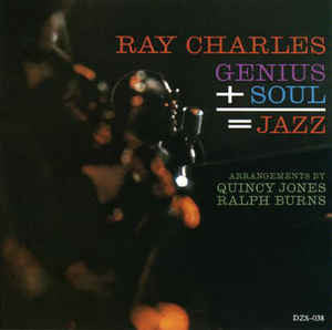 Ray Charles - Genius + Soul = Jazz (CD Usagé)