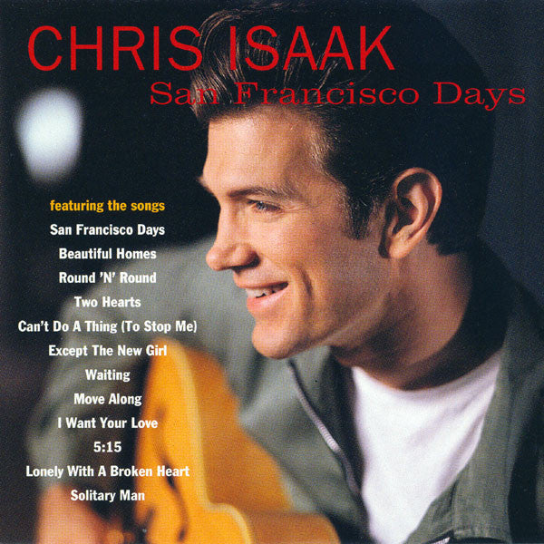 Chris Isaak - San Francisco Days (CD Usagé)