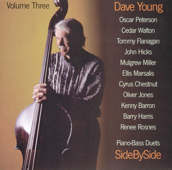 Dave Young - Piano-Bass Duets: Side By Side  / Volume Three (CD Usagé)