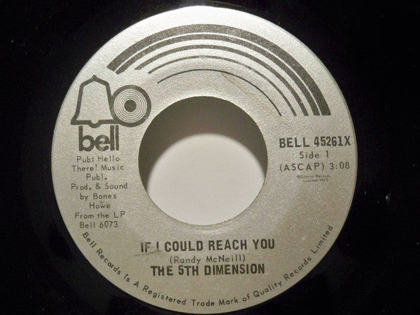The Fifth Dimension - If I Could Reach You (45-Tours Usagé)