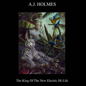 AJ Holmes - The King Of The New Electric Hi-Life (CD Usagé)