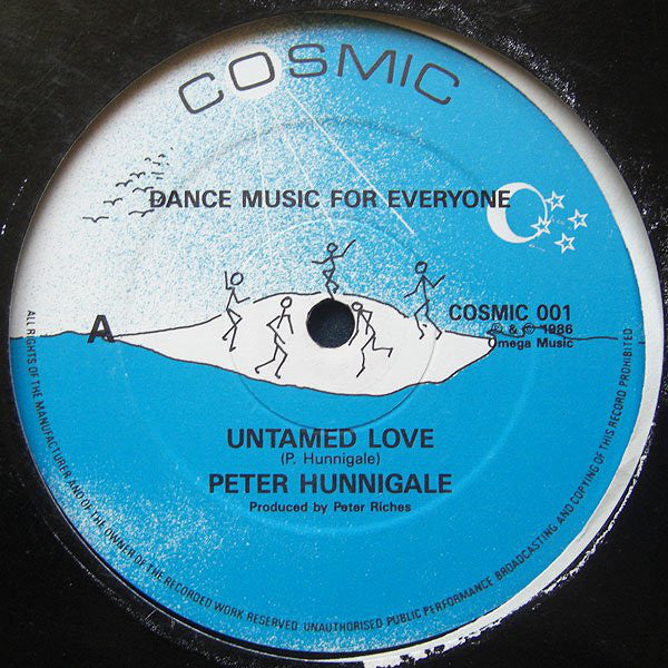 Peter Hunnigale - Untamed Love (Vinyle Neuf)