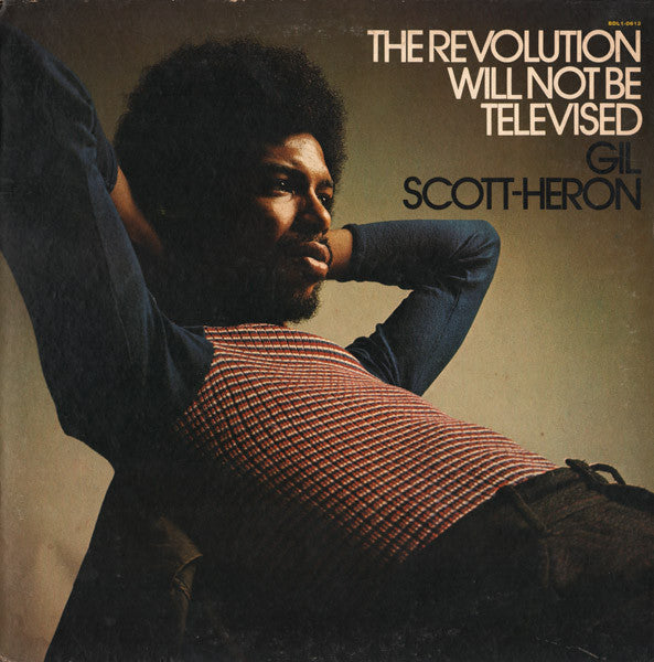 Gil Scott Heron - The Revolution Will Not Be Televised (Vinyle Neuf)
