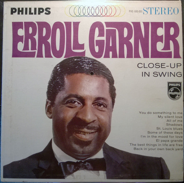 Erroll Garner - Close Up in Swing (Vinyle Usagé)