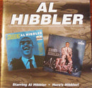 Al Hibbler - Starring Al Hibbler / Heres Hibbler! (CD Usagé)