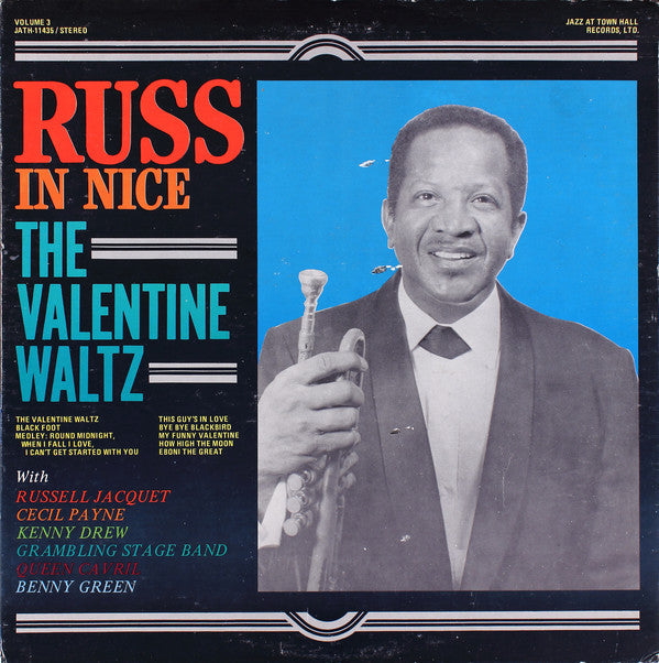 Russell Jacquet - Russ in Nice: The Valentine Waltz (Vinyle Usagé)