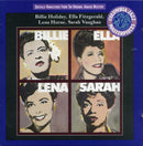 Billie Holiday / Ella Fitzgerald / Lena Horne / Sarah Vaughan - Billie Ella Lena Sarah (CD Usagé)