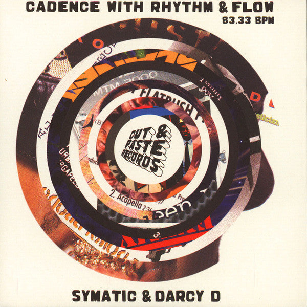 Symatic / Darcy D - Cadence With Rhythm And Flow (Vinyle Neuf)