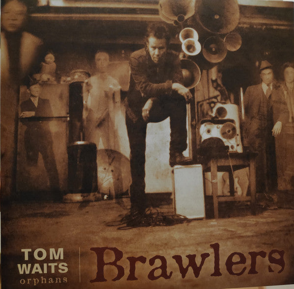 Tom Waits - Brawlers (Red Vinyl) (Vinyle Neuf)
